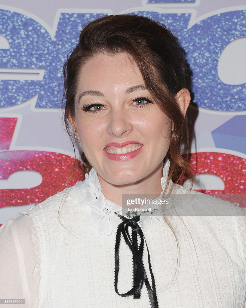 Singer Mandy Harvey arrives at NBC's 'America's Got Talent' Season 12 Live Show at Dolby Theatre on August 22, 2017 in Hollywood, California.