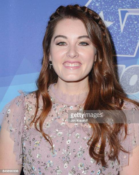 Singer Mandy Harvey attends NBC's 'America's Got Talent' Season 12 Finale Week at Dolby Theatre on September 19 2017 in Hollywood California