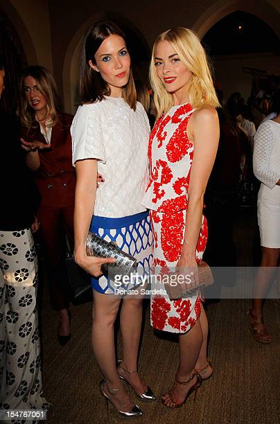 Singer Mandy Moore and actress Jaime King attend CFDA/Vogue Fashion Fund Event hosted by Lisa Love and Mark Holgate and sponsored by Audi Beautycom...