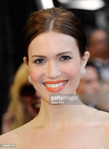 Singer Mandy Moore arrives at the 83rd Annual Academy Awards held at the Kodak Theatre on February 27 2011 in Hollywood California