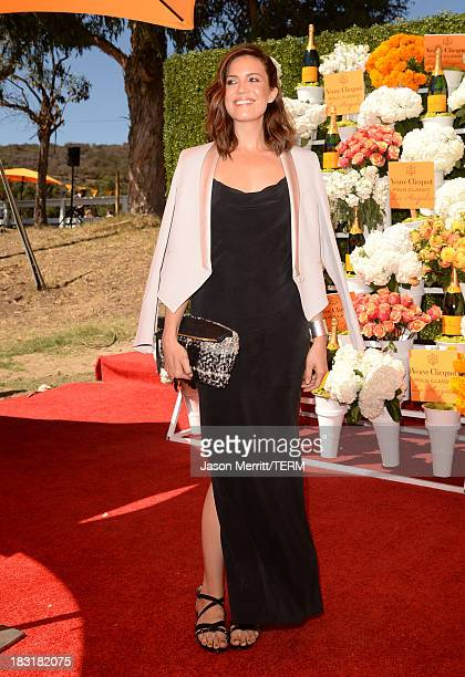 Singer Mandy Moore attends The FourthAnnual Veuve Clicquot Polo Classic Los Angeles at Will Rogers State Historic Park on October 5 2013 in Pacific...