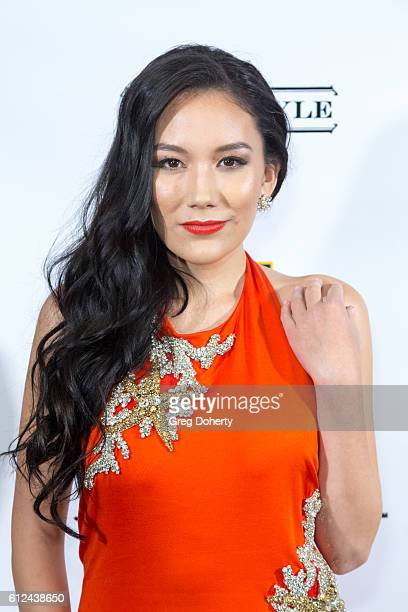 Singer Manika arrives for Jaimie Hilfiger's Birthday Celebration at The Argyle on October 3 2016 in Hollywood California