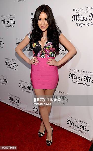 Singer Manika attends Miss Me and Cosmopolitan's Spring Campaign Launch Event Hosted by Bella Thorne at The Terrace at Sunset Tower Hotel in Los...