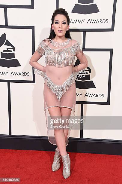 Singer Manika attends The 58th GRAMMY Awards at Staples Center on February 15 2016 in Los Angeles California