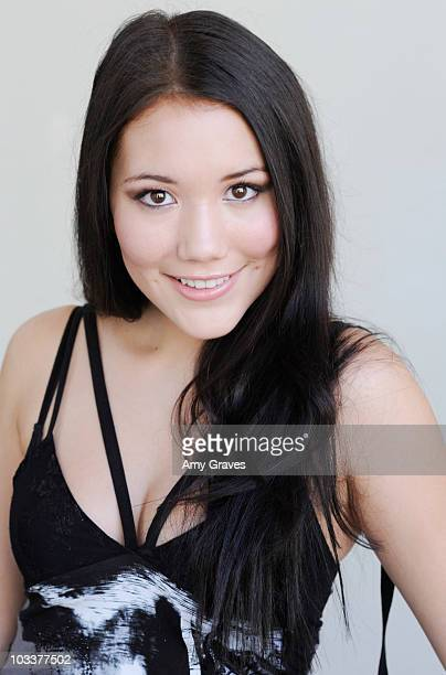 Singer Manika poses for a photo shoot on August 13 2010 in Los Angeles California