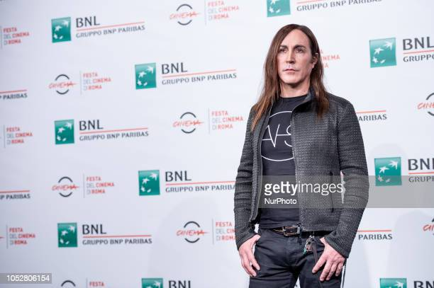 Singer Manuel Agnelli attends the 'Noi siamo Afterhours' photocall during the 13th Rome Film Fest at Auditorium Parco Della Musica on 23 October 2018