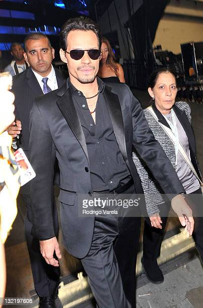 Singer Marc Anthony attends the 12th Annual Latin GRAMMY Awards held at the Mandalay Bay Events Center on November 10 2011 in Las Vegas Nevada