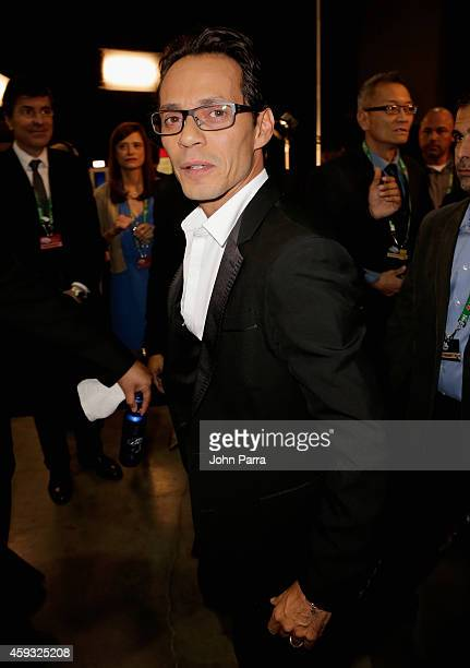 Singer Marc Anthony attends the 15th annual Latin GRAMMY Awards at the MGM Grand Garden Arena on November 20 2014 in Las Vegas Nevada