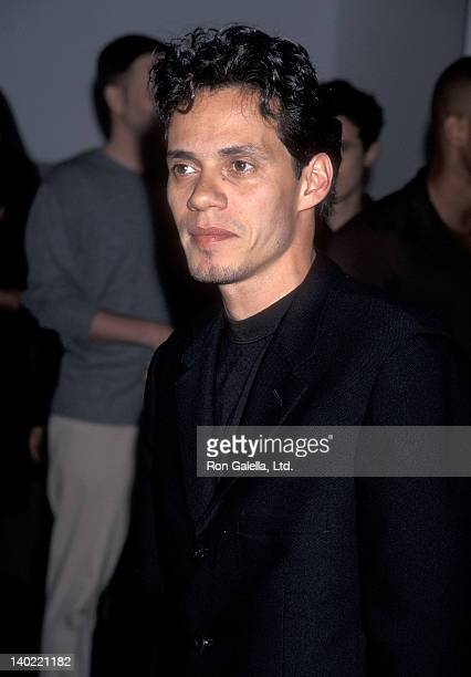 Singer Marc Anthony attends the 'Gipsy Passion' Opening Night Performance on June 2 1998 at the City Center in New York City