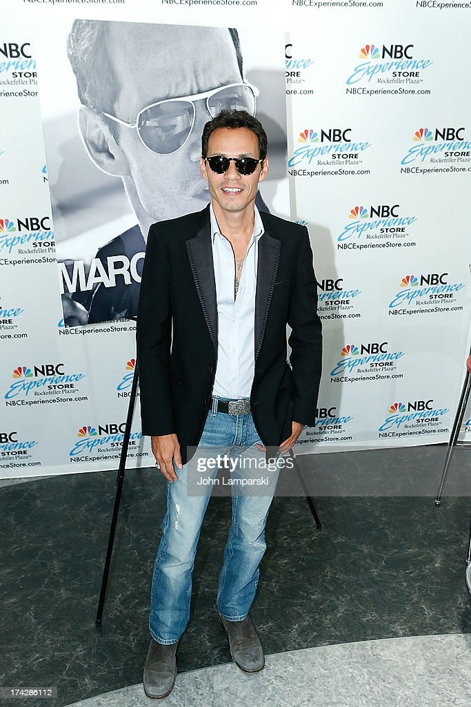 Marc anthony fan meet and greet photos and images getty images singer marc anthony attends the marc anthony fan meet greet at the nbc experience store m4hsunfo