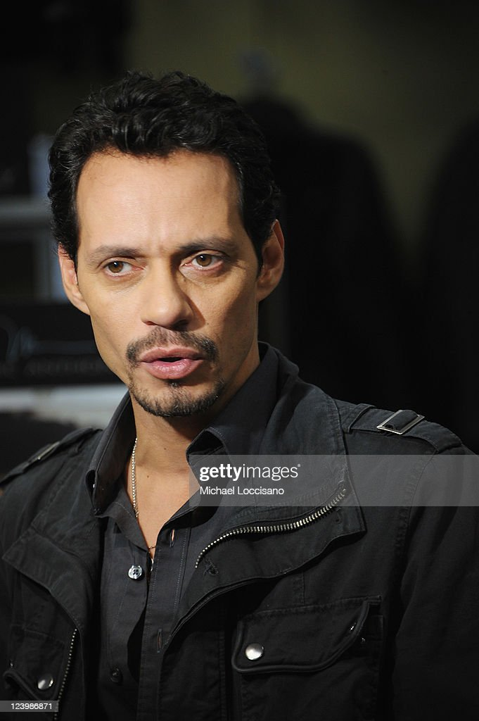 Singer Marc Anthony launches his Signature Collection at Kohl's on September 7, 2011 in Jersey City, New Jersey.