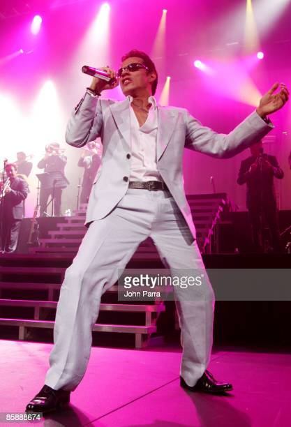 Singer Marc Anthony performs at Seminole Hard Rock Hotel and Casino on April 9, 2009 in Hollywood, Florida.
