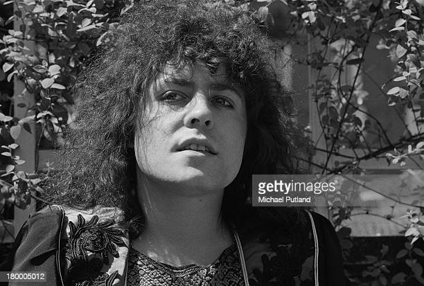 Singer Marc Bolan of British glam rock group TRex 7th June 1973