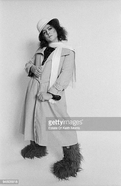 Singer Marc Bolan of English glam rock group T-Rex, London, 1977.
