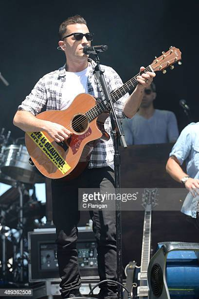 Singer Marc Roberge of O.A.R performs during 2015 KAABOO Del Mar at the Del Mar Fairgrounds on September 20, 2015 in Del Mar, California.
