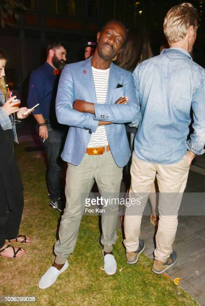 Singer Marco Prince from the FFF band attends the Spritz Plazza Party at the 118 Warner on September 19 2018 in Paris France