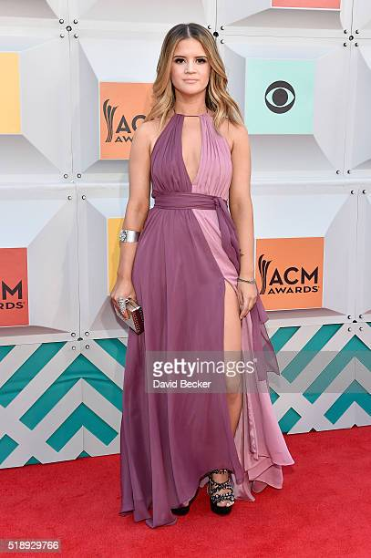 Singer Maren Morris attends the 51st Academy of Country Music Awards at MGM Grand Garden Arena on April 3 2016 in Las Vegas Nevada