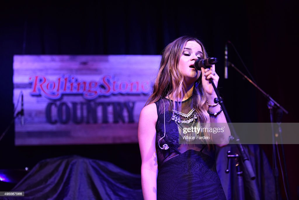 Singer Maren Morris performs for Rolling Stone Country Live