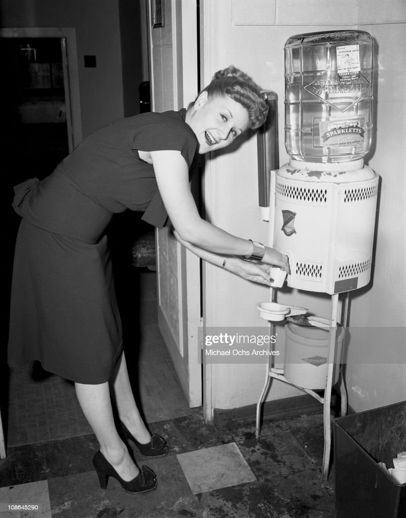 Singer Margaret Whiting takes a break from recording in the Capitol Records Studios on October 9, 1946 in Los Angeles, California.