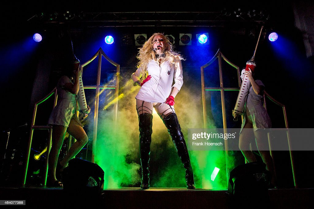In This Moment Perform In Berlin : News Photo