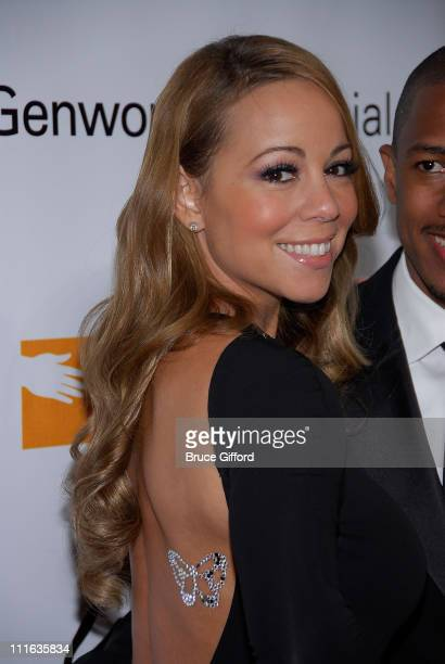 Singer Mariah Carey arrives at the 13th annual Andre Agassi Charitable Foundation's Grand Slam for Children benefit concert at the Wynn Las Vegas...