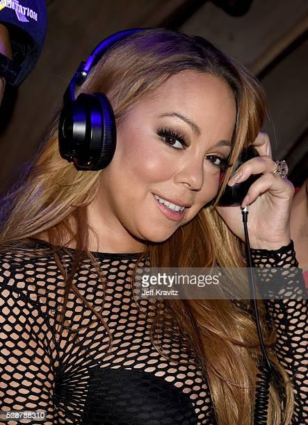 Singer Mariah Carey attends Mishka B's Epic Bat Mitzvah at 1OAK on May 6 2016 in Los Angeles California