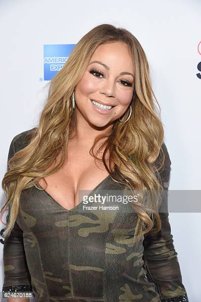 Singer Mariah Carey attends Open Spotlight at The Oasis during Airbnb Open LA Day 3 on November 19 2016 in Los Angeles California