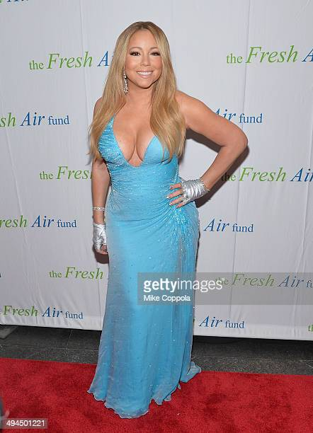 Singer Mariah Carey attends the 2014 Fresh Air Fund Honoring Our American Hero at Pier Sixty at Chelsea Piers on May 29 2014 in New York City