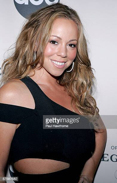 Singer Mariah Carey attends the screening of 'Oprah Winfrey's Legends Ball' at JP Morgan Library May 11 2006 in New York City