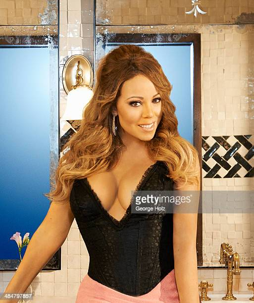 Singer Mariah Carey Is Photographed For Ebony Magazine On November   In New York City