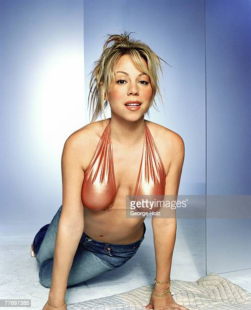 Singer Mariah Carey is photographed for FHM UK on May 29 2001 in New York City