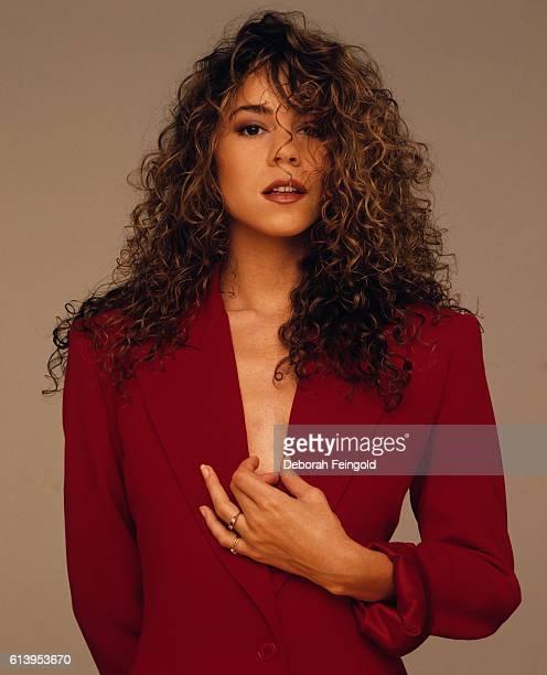 Singer Mariah Carey July 1990 in New York City New York