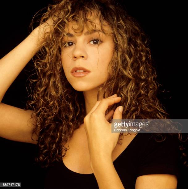 Singer Mariah Carey poses for a portrait in 1990 in New York City, New York.