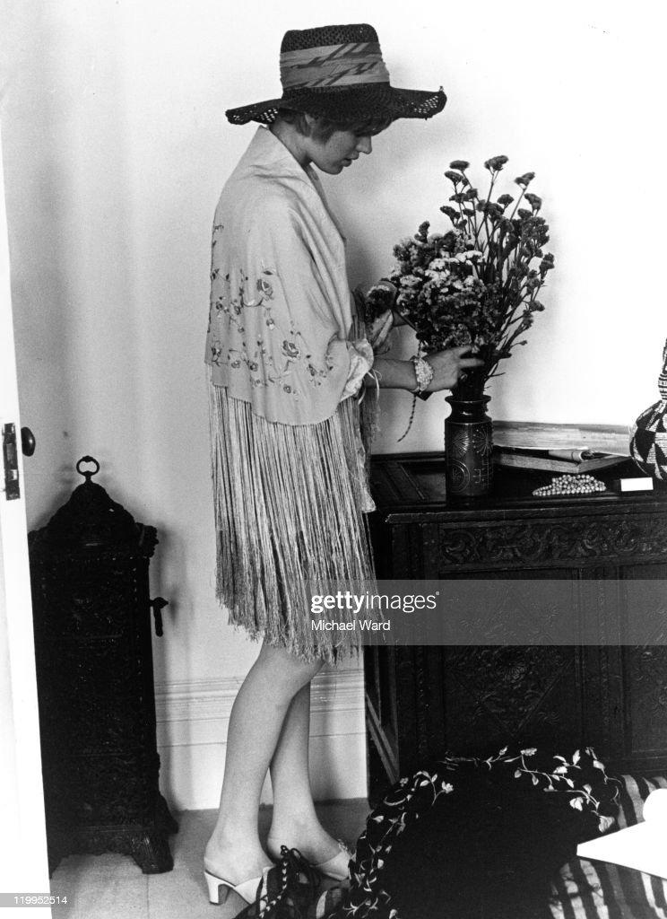 Marianne Faithfull At Home : News Photo