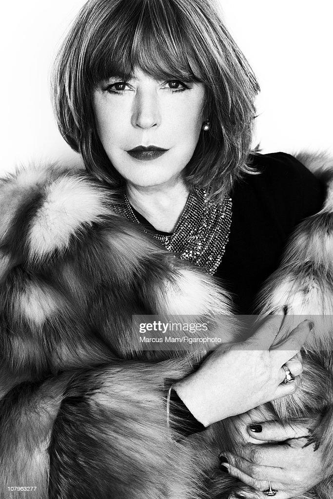 Marianne Faithfull, Madame Figaro, January 7, 2011