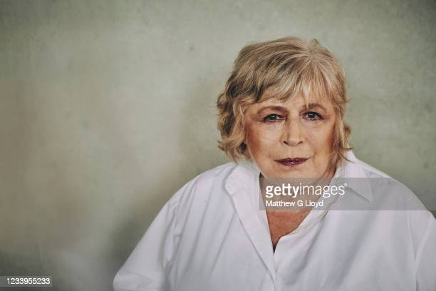 Singer Marianne Faithfull is photographed for the Los Angeles Times magazine on April 21, 2021 in London, England.