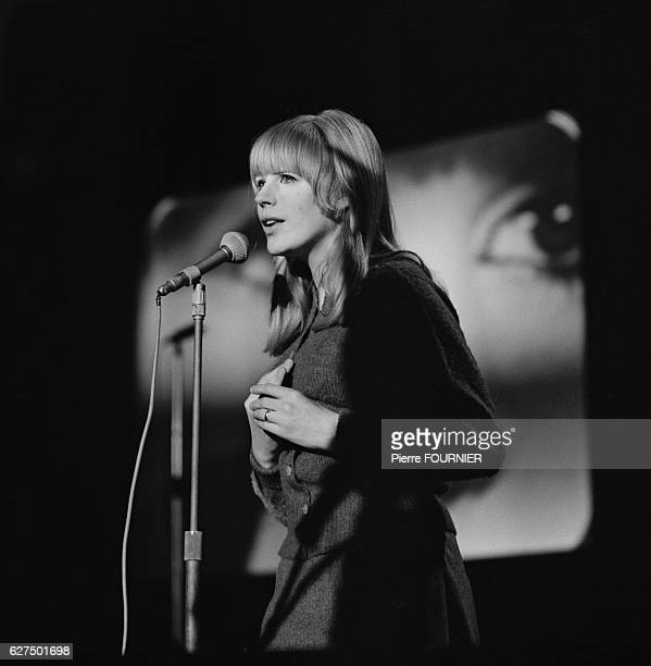 Singer Marianne Faithfull performs at the Music Hall de France in Issy les Moulineaux near Paris