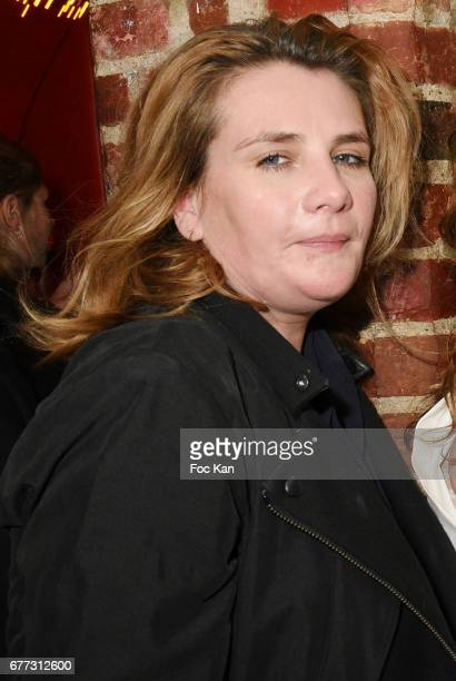 """Singer Marie Amelie Seigner attends """"Attachiante"""" Chanez Concert and Birthday Party at Sentier des Halles Club on May 2, 2017 in Paris, France."""