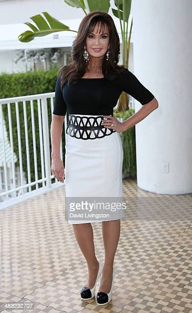 Singer Marie Osmond attends Paul Mitchell Schools' 11th Annual FUNraising Gala at the Beverly Hilton Hotel on May 4 2014 in Beverly Hills California