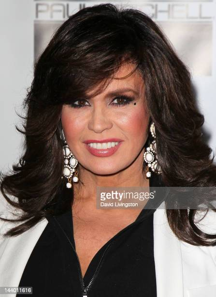 Singer Marie Osmond attends Paul Mitchell's 9th Annual Fundraiser at the Beverly Hilton on May 7 2012 in Beverly Hills California