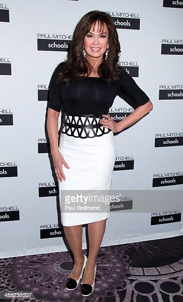 Singer Marie Osmond attends the 11th Annual Paul Mitchell Schools' 2014 FUNraising Gala at The Beverly Hilton Hotel on May 4 2014 in Beverly Hills...