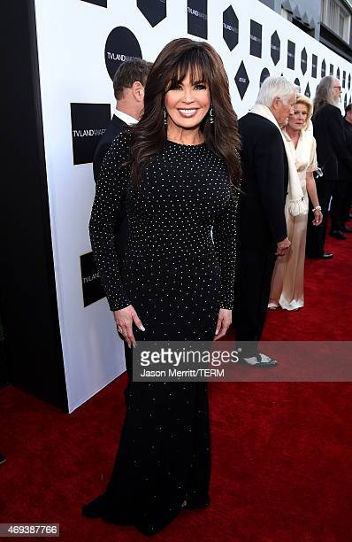 Singer Marie Osmond attends the 2015 TV Land Awards at Saban Theatre on April 11 2015 in Beverly Hills California