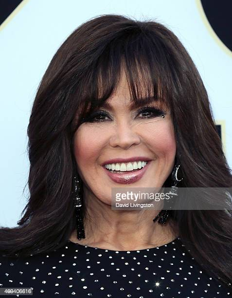Singer Marie Osmond attends the 2015 TV Land Awards at the Saban Theatre on April 11 2015 in Beverly Hills California