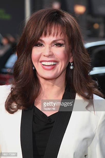 Singer Marie Osmond of The Osmonds visits the set of Good Morning America at GMA Studios on April 1 2013 in New York City