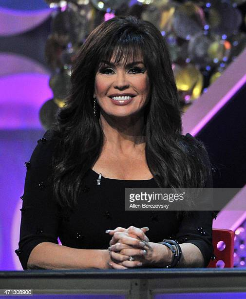Singer Marie Osmond speaks onstage during the 42nd Annual Daytime Emmy Awards at Warner Bros Studios on April 26 2015 in Burbank California