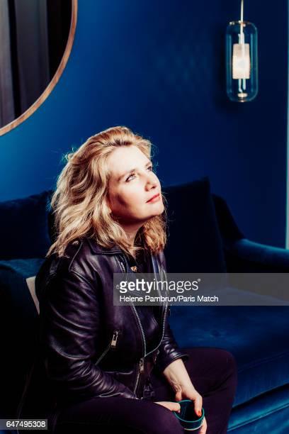Singer Marie-Amelie Seigner is photographed for Paris Match on December 14, 2016 in Paris, France.