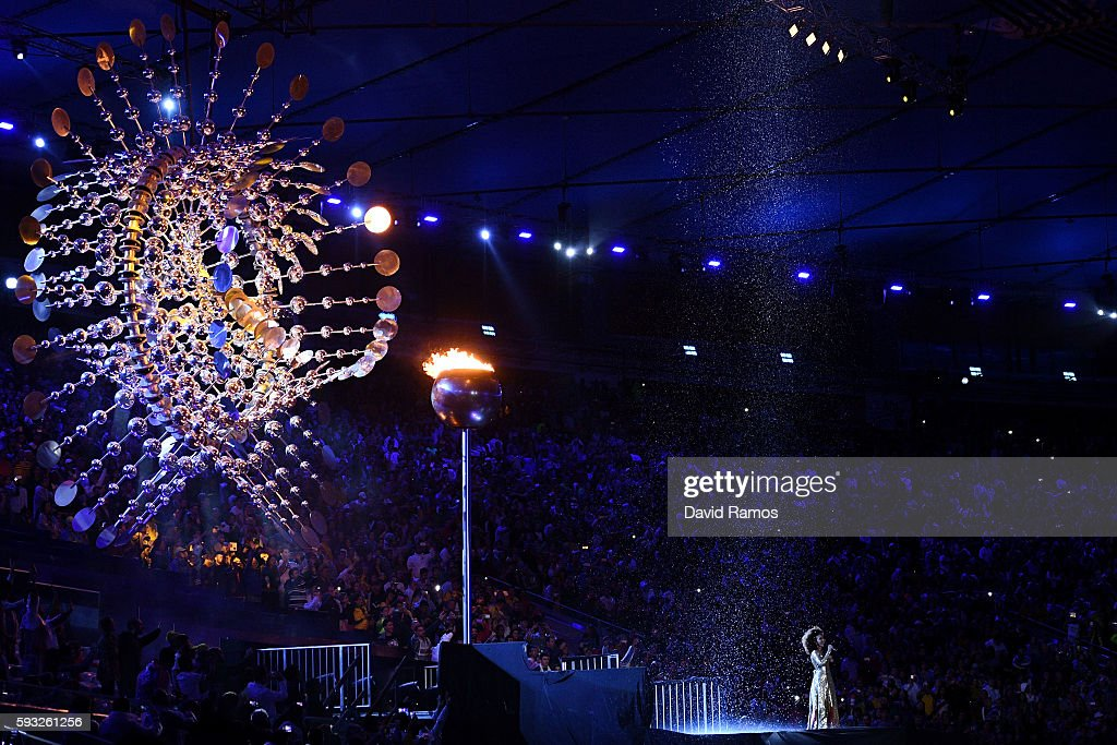 Closing Ceremony 2016 Olympic Games - Olympics: Day 16 : News Photo