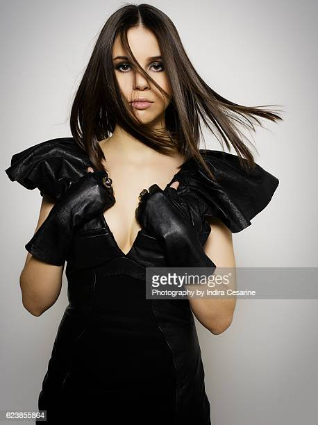 Singer Marina Kaye is photographed for The Untitled Magazine on March 13 2016 in New York City PUBLISHED IMAGE CREDIT MUST READ Indira Cesarine/The...