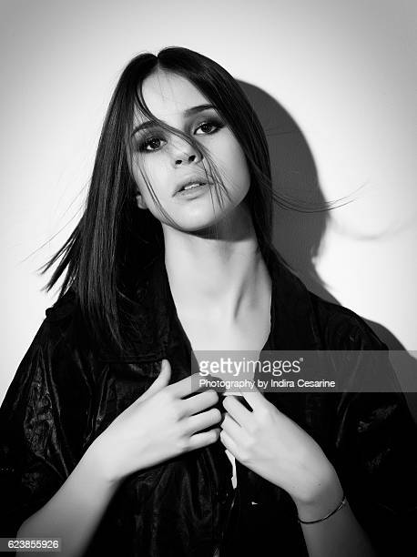 Singer Marina Kaye is photographed for The Untitled Magazine on March 13, 2016 in New York City. PUBLISHED IMAGE. CREDIT MUST READ: Indira...