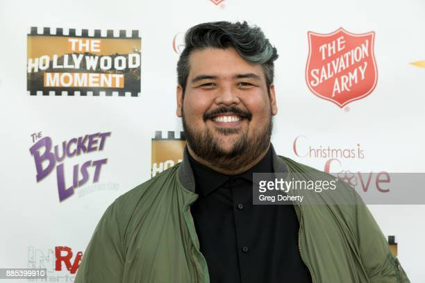 Singer Mario Jose attends The Salvation Army Celebrity Kettle Kickoff Red Kettle Hollywood at the Original Farmers Market on November 30 2017 in Los...